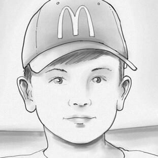 Titel- McDonalds Junge